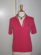 Wunderschönes Orig. Margittes Polo Shirt Pink / Himbeere mit Strass Gr. 40 NEUw!