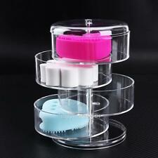 Clear 4 Layer Acylic Rotating Makeup Organizer Cosmetic Storage Display Holder
