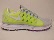 Nike De Mujer Zoom Vomero 9 Reino Unido 4.5 voltios Blanco Puro Platino 642196007