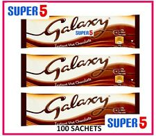 100 GALAXY INSTANT HOT CHOCOLATE SACHETS 25G- OFFICE,HOME,BUSINESS