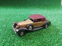 MATCHBOX YESTERYEAR MOY Y-15 1930 PACKARD VICTORIA, GOLD, 1969-70  diecast 1:45