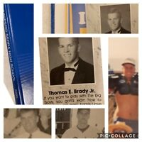 *TOM BRADY 1995 SENIOR YEARBOOK* Rare Mint School Serra Patriots GOAT NFL HOF