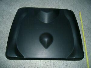 Topo Mini by Ergodriven Smaller Not-Flat Standing Desk Anti-Fatigue Mat (Black).