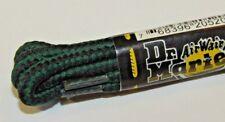 Dr Martens Laces GREEN & BLACK Genuine Replacement Shoelaces DMs Docs 60cm