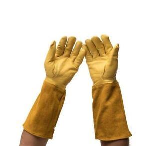 Garden Gloves Thornproof Rose Pruning Beekeeper Gauntlet Puncture Resistant
