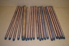 """Carbon arc rods, 1/2""""x12"""", Sunlight Size 13, CC, L4536 National, Mixed lot of 20"""