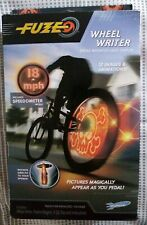 FUZE Wheel Writer Lights for Bike Wheels Refectors Speedometer Mounts Spokes W1
