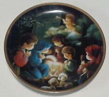 Precious Moments Bible Story Come Let Us Adore Him 1991 Plate
