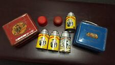 HOPALONG CASSIDY 1950's LUNCH BOX & THERMOS lot 2 boxes 4 thermos 1 BOOK