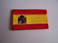 Patch Mini Patch Flag Spain cm 5 x 3 Flag Spain Spanish Spain with Crest
