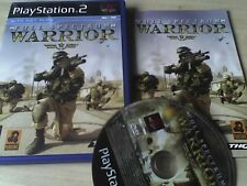 Full Spectrum Warrior PS2 GREAT SHOOTER GAME COMPLETE/FREE P&P