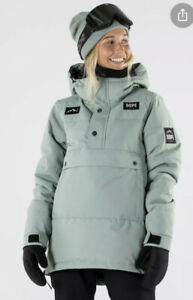 Ladies Dope BNWT Faded Green Puffer W Snow Ski Snowboard Jacket Coat Size M 12