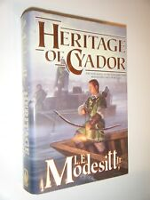 Heritage of Cyador by L.E. Modesitt The Saga of Recluce Book 18 First Edition