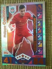 Topps MATCH ATTAX 2016/17 - PHILIPPE COUTINHO Bronze Limited Edition Card - LE2.