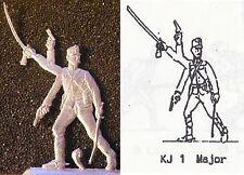 K.u.K. Österreichische Infanterie WW 1 - Major befehlend - Zinnfigur 30 mm blank