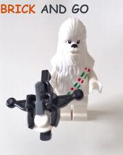 LEGO Minifig Figurine Star Wars SW763 Snow Chewbacca + Arbalete NEUF NEW