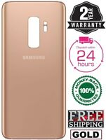 New Samsung Galaxy S9 Plus Original Battery Back Door Glass Cover OEM (Gold)