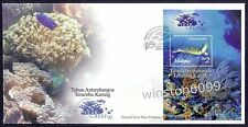 Malaysia 1997 International Year of Reef, Turtle MS FDC (KL Chop) Best Buy Offer