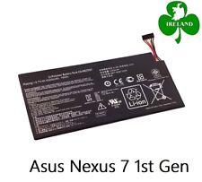 For Asus Nexus 7 1st Gen Genuine Replacement Battery 4325mAh C11-ME370T New