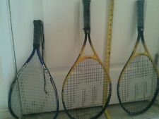 Lot / Racquetball Racquets 2 Wilson Lethal Weapon & 1 Head Fury XL Tennis Racket
