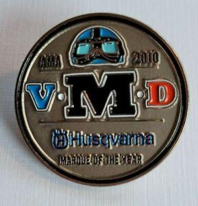 AMA Vintage Motorcycle Days Pin 2010