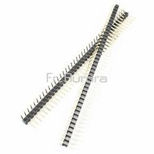 10PCS 40Pin 2.54mm Single Row Right Angle Pin Header Strip Arduino kit Module