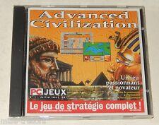 Jeu de Stratégie complet : ADVANCED CIVIZATION - PC Jeux 1997 N°1