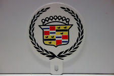 """CADILLAC """"LOLIPOP"""" License Plate Topper 4 1/4"""" High 3 1/2"""" Wide!"""