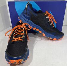 ASICS Gel-FujiTrabuco 8 Men's Size 10.5 Blue/Black/Orange Running Shoes X5-1658