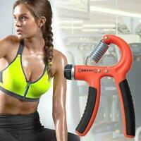 Adjustable Hand Grip Power Exerciser Forearm Wrist Gripper Strengthener A4K6