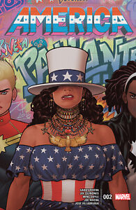 America #2 BEYONCE HOMAGE America Chavez COVER A NM 1ST PRINT MARVEL COMICS