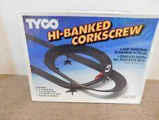 Tyco HO Race Track Hi-Banked Corkscew Sealed Box New