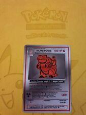 Pokemon Base 1st Blastoise Red LUXURY CARD custom card Christmas gift