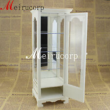 DOLL 1/6 scale miniature furniture well made hand carving display cabinet