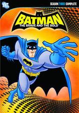 Batman The Brave and the Bold: Season 3 (DVD,2012)