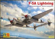 RS Models 1/72 F-5A Lightning American RICOGNIZIONE # 92216
