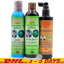 Jinda Herbal Hair Growth Anti Hair Loss Shampoo + Conditioner + Hair Serum