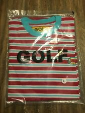 bf05e4d033e9 golf wang stripped t shirt Size L odd future tyler the creator camp clog  gnaw