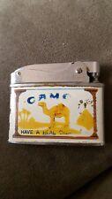 Vintage Zenith Camel Cigarette Lighter Made In Japan