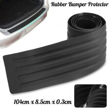 104cm Car Rear Boot Bumper Sill Protector Plate Rubber Cover Body Guard Trim Pad