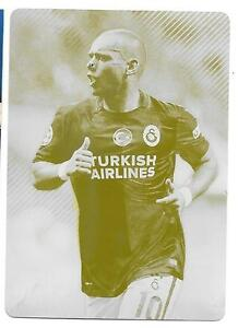 WESLEY SNEIJDER 2015 2016 TOPPS UEFA CHAMPIONS LEAGUE YELLOW PRINTING PLATE 1/1