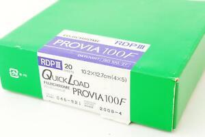 Fujifilm RDPIII Provia 100F, 4x5 QuickLoad, 20 sheets, EXP 2008-4, #1