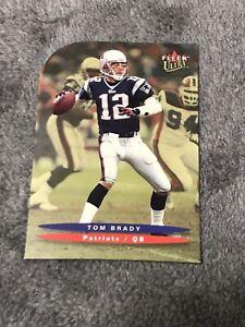 2003 Fleer Ultra Tom Brady GOLD MEDALLION EDITION Die-cut #114 SP