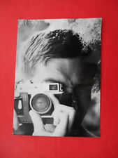 USSR 1950-th Shooting with Russian camera ZORKI 4. Nice Real photo