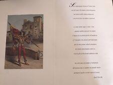 Sonetto 1996 Contrada della Chiocciola Palio di Siena
