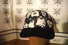 Hollywood Mirror Black & White Truckers Snapback Baseball Cap Hat