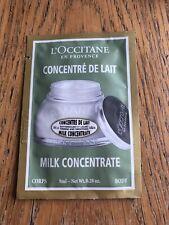 New L'Occitane en Provence Amande Milk Concentrate with Almond 8ml body cream..
