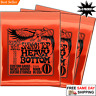 3 SETS OF ERNIE BALL 2215 SKINNY TOP HEAVY BOTTOM ELECTRIC GUITAR STRINGS 10-52