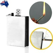 NEW Survival  Emergency Fire Starter Flint Match Lighter With KeyChain