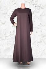 Plain Abaya - Islamic - Burqa - Kaftan - Farasha - Jilbab  - Maxi Dress